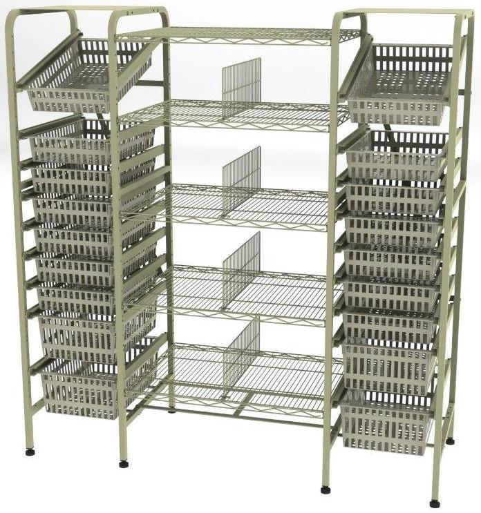 racks and shelves