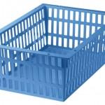 46000-600X400X200 BASKET(BLUE)
