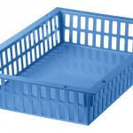 46005-600X400X100 BASKET(BLUE)